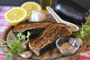 Read more about the article Aubergines au four